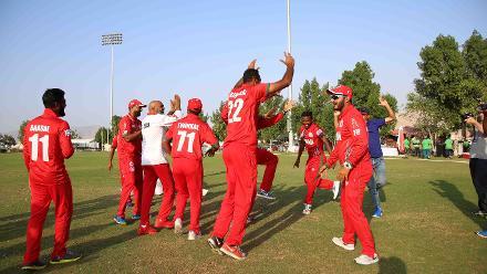USA v Singapore, 15th Match, ICC World Cricket League Division Three at Al Amarat, Nov 19 2018