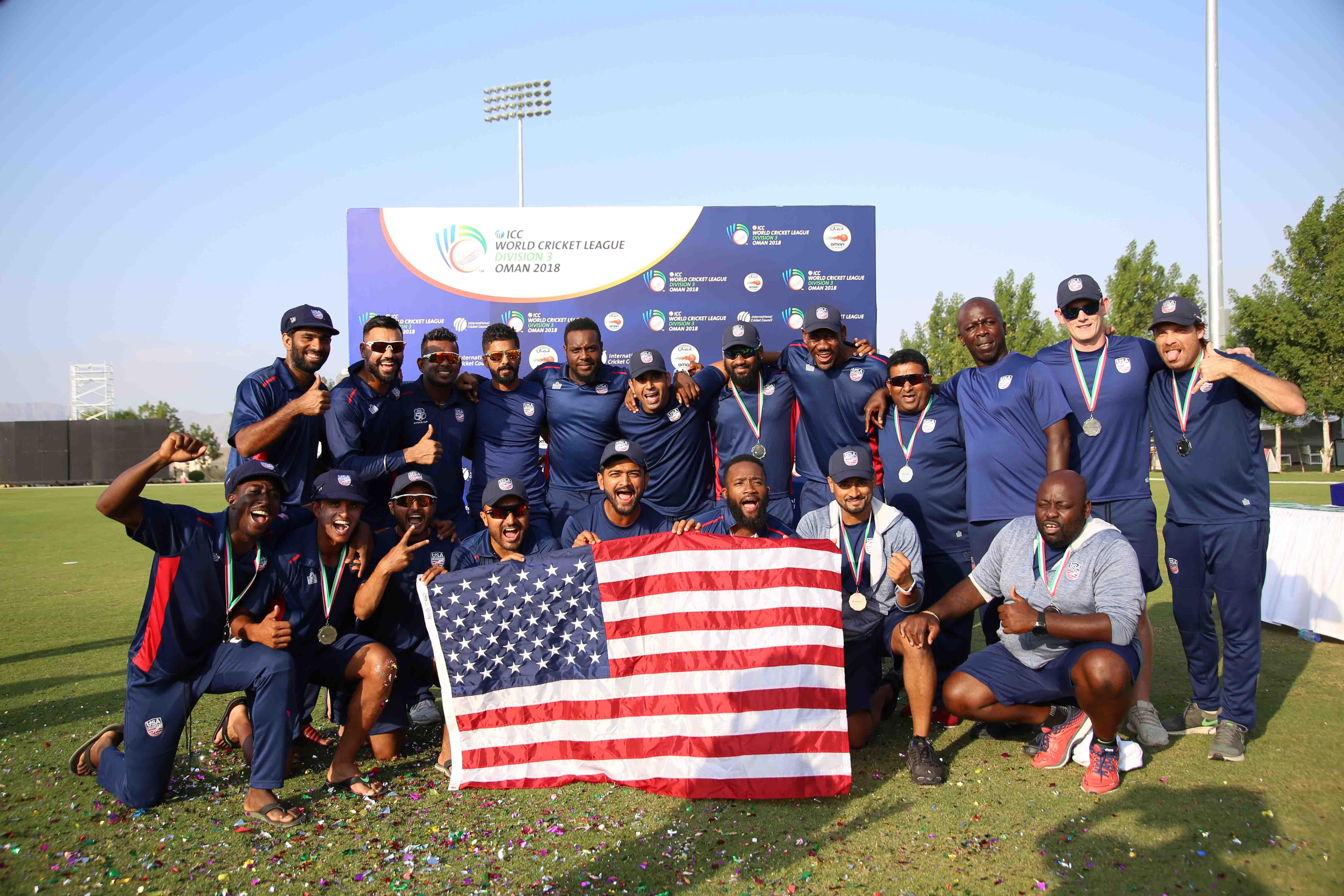 USA name squad for first-ever T20I