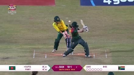 SA v BAN: Bangladesh innings highlights