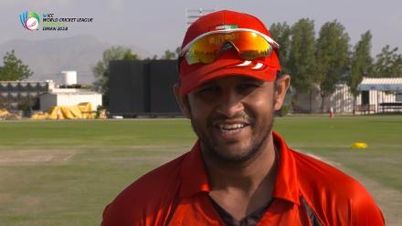 WCL 3 – Singapore captain Chetan Suryawanshi speaks before match against USA