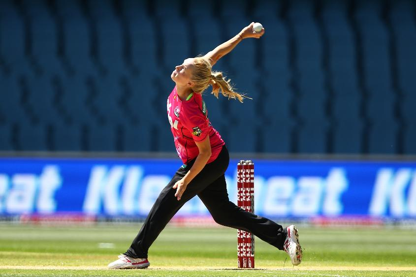 Kim Garth starred for Sydney Sixers in the WBBL