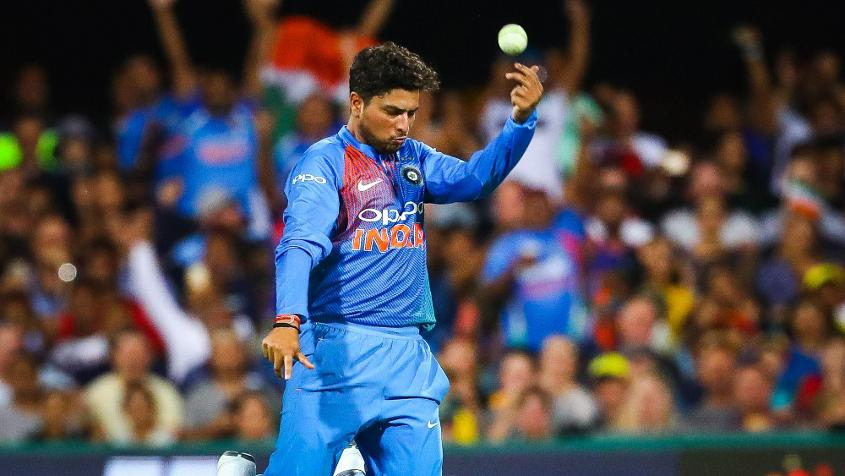 Kuldeep Yadav finished with impressive figures of 2/24 from four overs