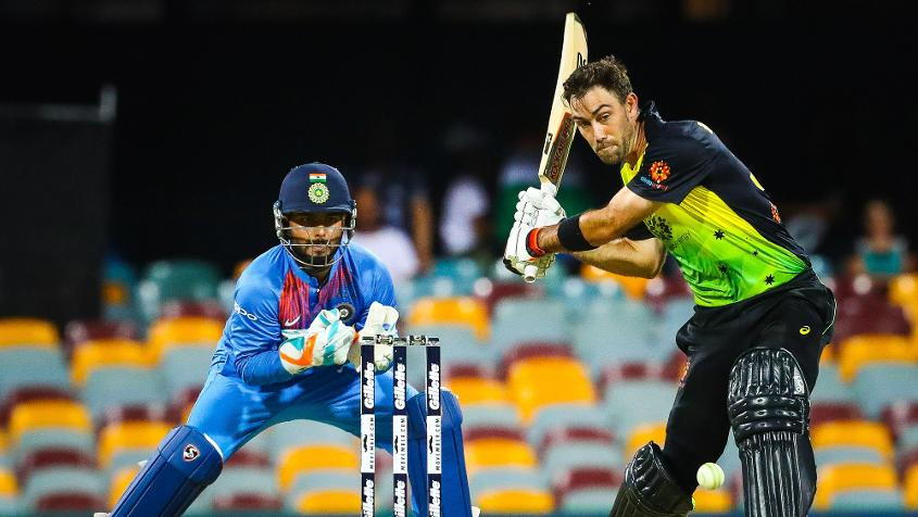 Glenn Maxwell was particularly aggressive against the finger-spin of Krunal Pandya