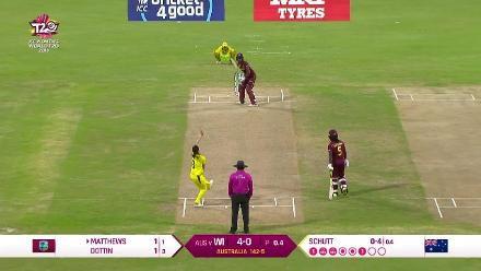 WI v AUS: Full match highlights