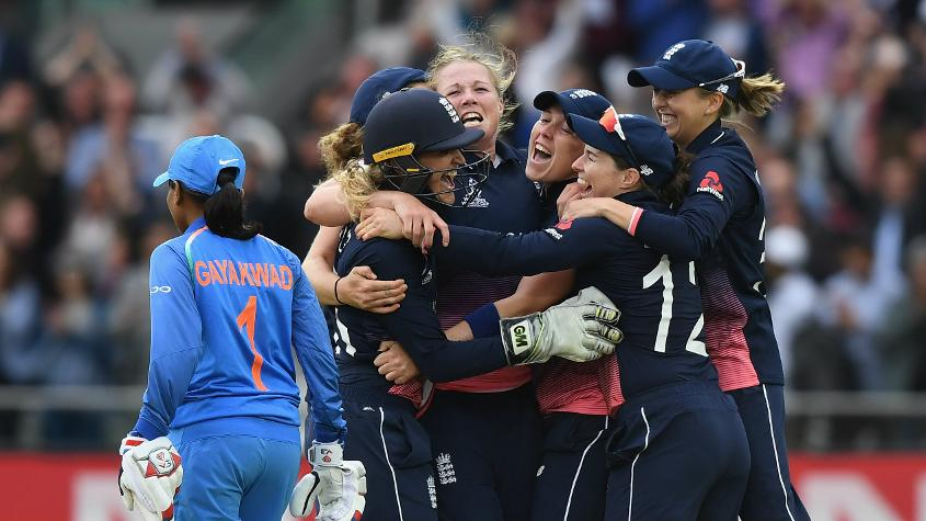England beat India in a thrilling World Cup final at Lord's in 2017