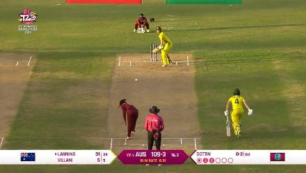 WI v AUS: Australia innings highlights