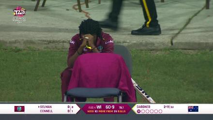WI v AUS: Windies distraught after semi-final loss