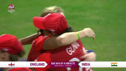 ENG v IND: England's winning moment