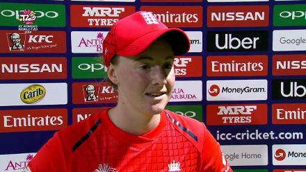 ENG v IND: 'It's been a great first half' – Kirstie Gordon
