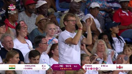 ENG v IND: England fans root for their team