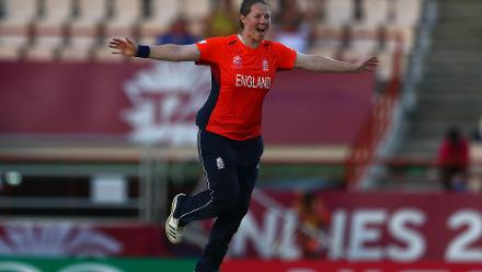 Anya Shrubsole was the star against South Africa, taking a hat-trick to help bowl South Africa out for 85. England chased down the target with seven wickets intact.