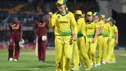 Australia came up against the hosts and defending champions, the Windies, in the first semi-final. They showed why they are the No.1 team in the world, registering a comprehensive 71-run victory to reach their third straight WT20 final.