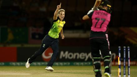 Australia then faced off against their Trans-Tasman rivals, New Zealand. They won the fixture comfortably by 33 runs.