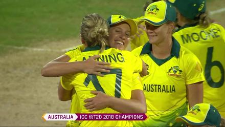 AUS v ENG: Australian players celebrate fourth title win