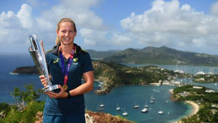 Winning Captains' Photocall, Shirley Heights Lookout Antigua, November 25 2018
