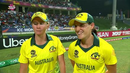 AUS v ENG: 'I'm trying to hold back my tears' – Megan Schutt