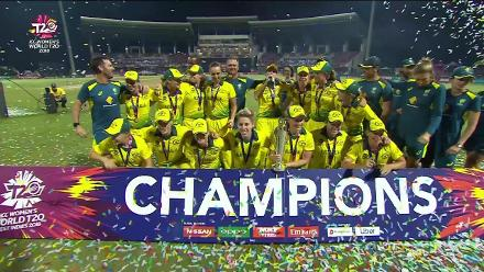 AUS v ENG: Champions Australia are elated