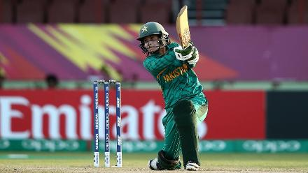 PAK v IRE: Player of the Match - Javeria Khan