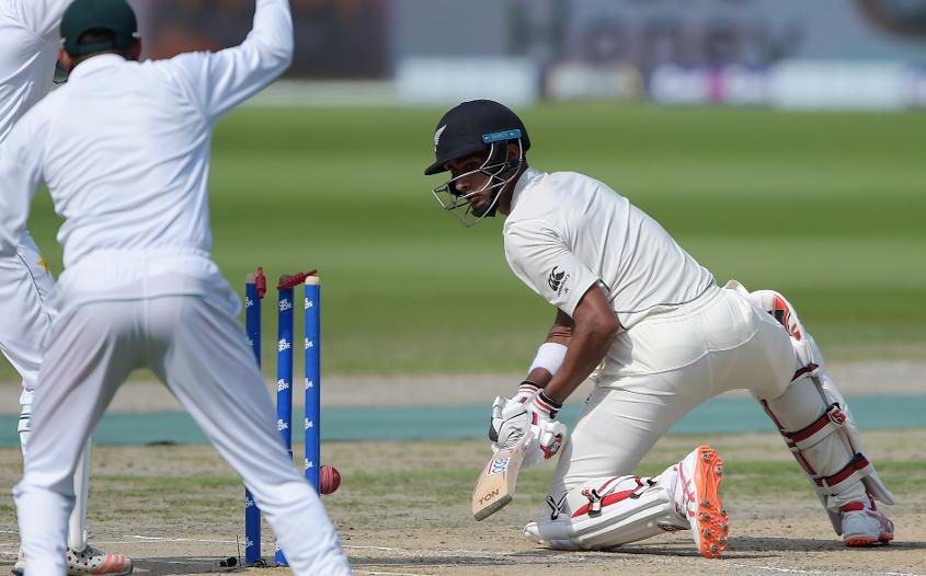 The dismissal of Jeet Raval kick-started the New Zealand collapse