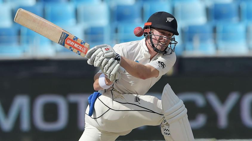 Henry Nicholls scored a gritty 77 to get New Zealand closer to making Pakistan bat a second time