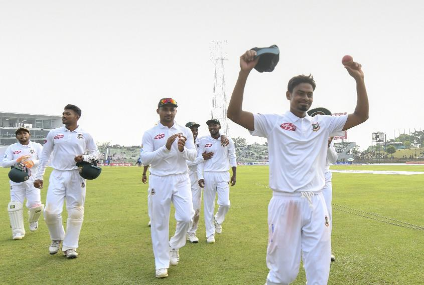 Bangladesh opted for an all-spin attack in the second Test against the Windies