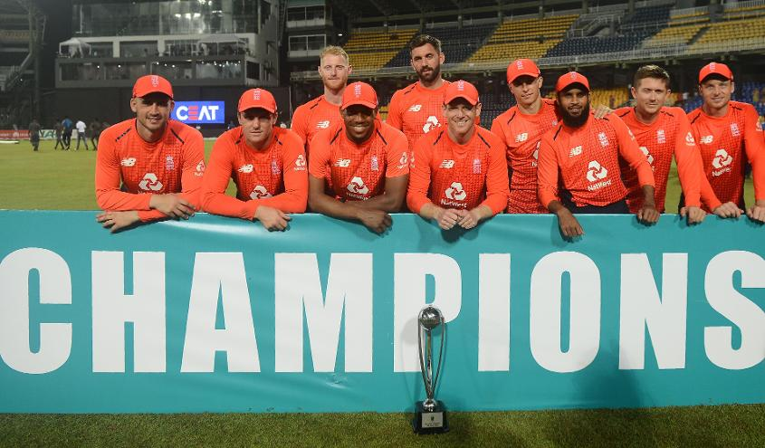 England's series win in Sri Lanka was their ninth in a row