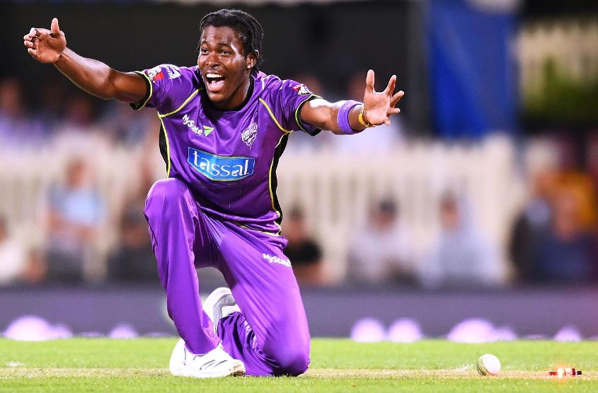 Archer plays for Hobart Hurricanes in the Big Bash League