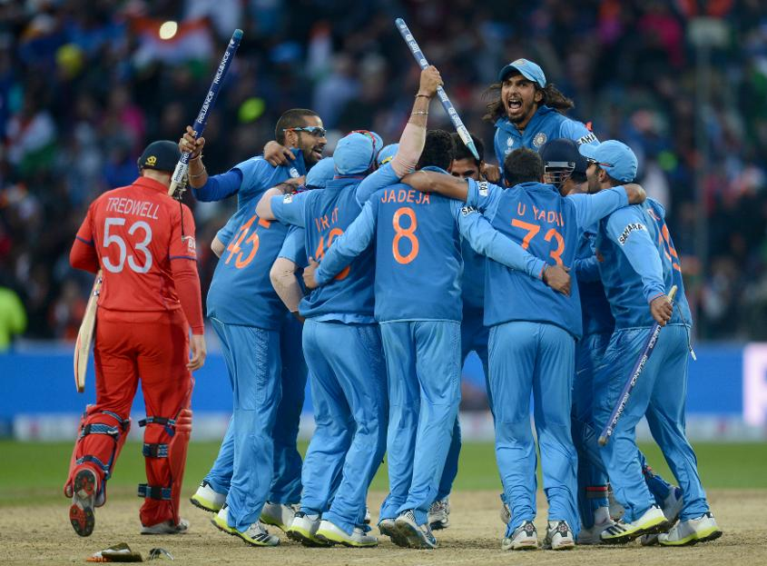 India came out as victors in the 2013 ICC Champions Trophy played in England