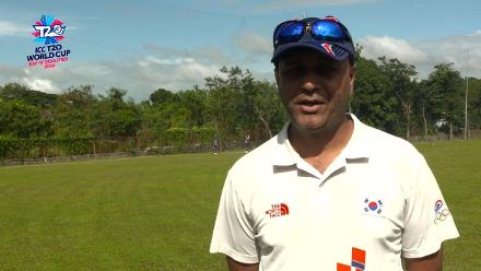 ICC Men's T20 World Cup EAP B Qualifier: Korea head coach speaks ahead of match against Philippines