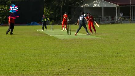 ICC Men's T20 World Cup EAP B Qualifier: Japan effect a run-out against Indonesia