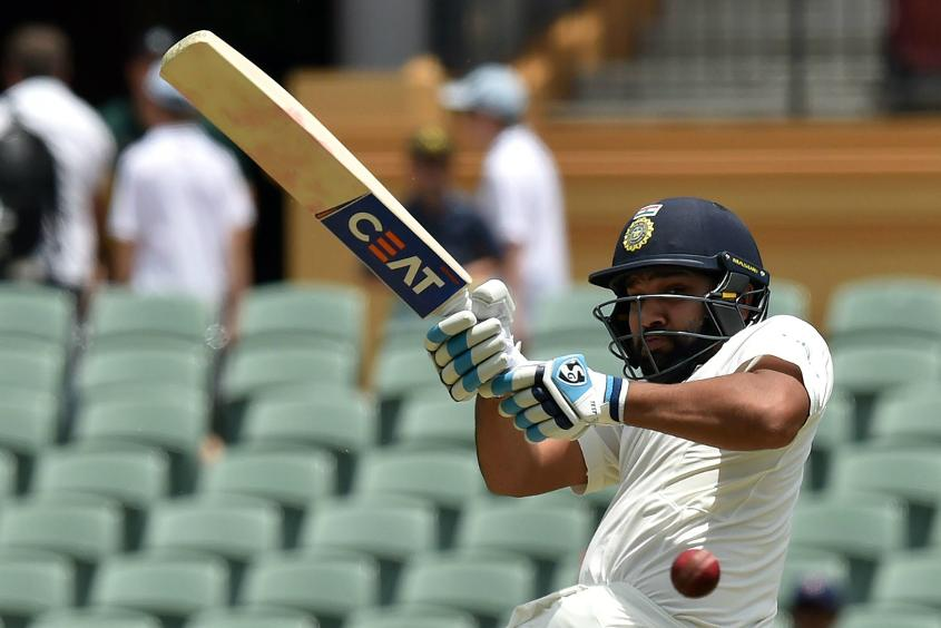 Rohit Sharma's 61-ball 37 featured two fours and three sixes