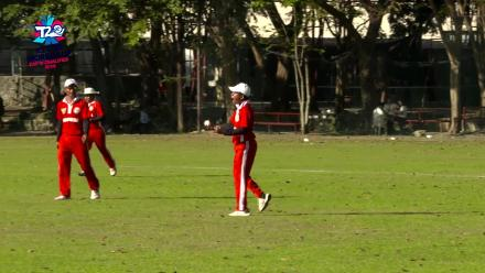 ICC Men's T20 World Cup EAP B Qualifier: Banunaek takes a superb catch to dismiss Jeongwook