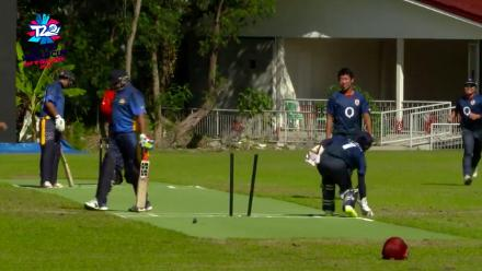 ICC Men's T20 World Cup EAP B Qualifier: 15-year-old Japan bowler Kazumasa Takahashi returns 3/14 against Philippines