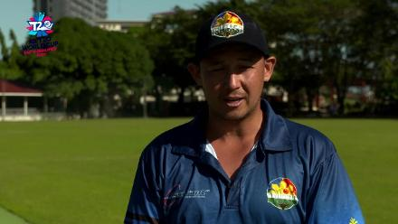 ICC Men's T20 World Cup EAP B Qualifier: Jonathan Hill pre-match interview