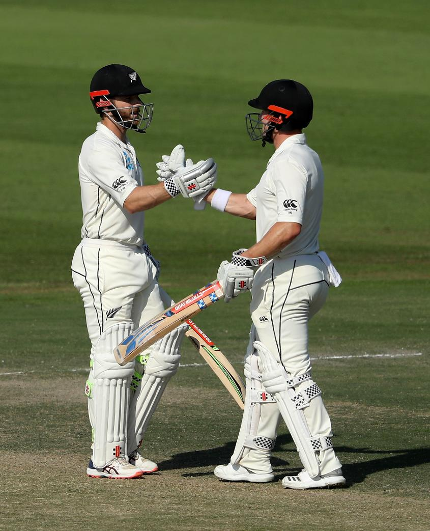 Williamson and Nicholls were intent on building a strong lead – much to this dismay of Pakistan