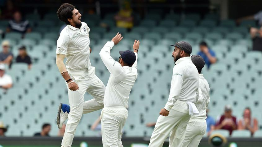 Ishant Sharma made an early impact, removing Aaron Finch for a duck, and later getting Tim Paine