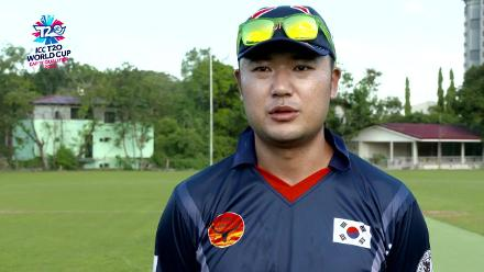 ICC Men's T20 World Cup EAP B Qualifier: South Korea captain Jun Hyun Woo pre-match interview