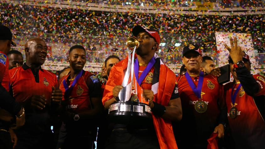 Bravo led Trinbago Knight Riders to the title at the 2018 Caribbean Premier League