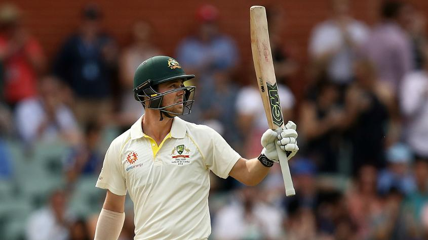 Travis Head held things together for Australia with a fine fifty