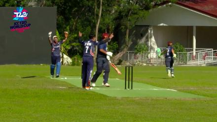 ICC Men's T20 World Cup EAP B Qualifier: South Korea's Lim Jeong Wook pulls off two direct-hit run-outs against Japan
