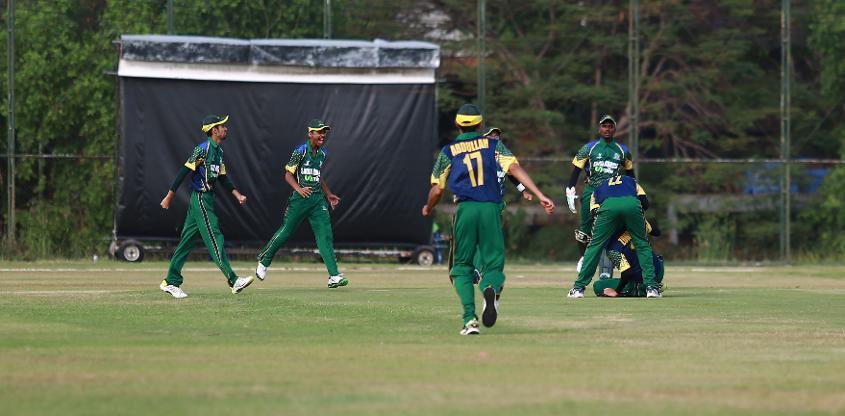 Saudi Arabia enjoyed a 51-run victory over Thailand