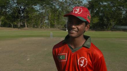 ICC U19 CWC Asia Qualifier Division 2: Mafaaz Hussain, Maldives captain interview before match v Kuwait