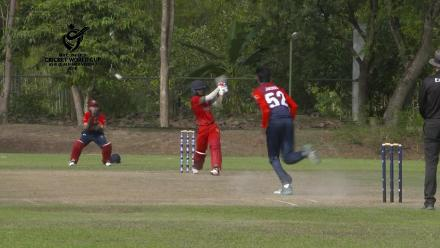 ICC U19 CWC Asia Qualifier Division 2: Kuwait's Akhil Sajeev Nair takes 3 for 17 against Maldives