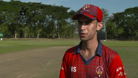ICC U19 CWC Asia Qualifier Division 2: Nomaan Sidique, Kuwait captain interview before match v Maldives