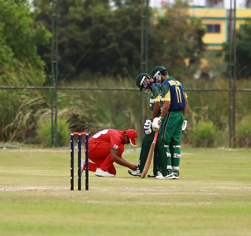 It was a key game, but the Spirit of Cricket was still on show between Saudi Arabia and Oman