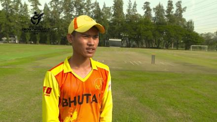 ICC U19 CWC Asia Qualifier Division 2: Yowon Pradhan, Bhutan captain, pre-match interview