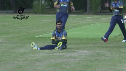 ICC U19 CWC Asia Qualifier Division 2: Great take from the Saudi Arabia wicketkeeper