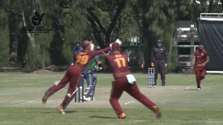 ICC U19 CWC Asia Qualifier Division 2: Qatar wicket-keeper takes a sharp catch
