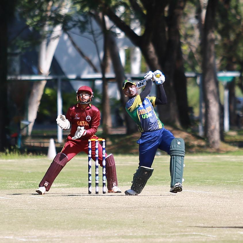 Tight bowling from Qatar restricted Saudi Arabia to 131