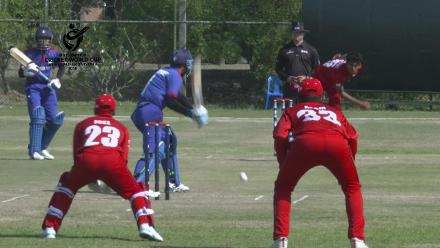 ICC U19 CWC Asia Qualifier Division 2: Oman's Azam Ali takes a good catch at slip